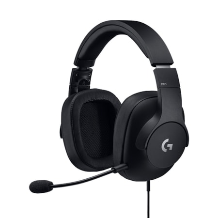 Logitech G PRO Wired Over-the-head Stereo Headset - Black