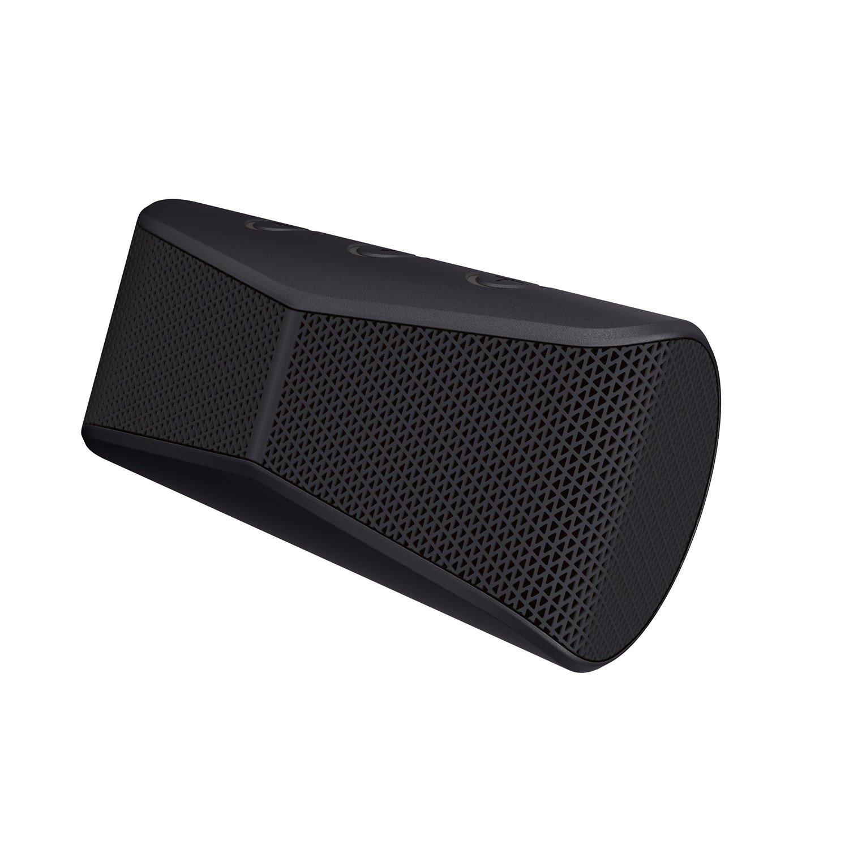 Logitech X300 Speaker System - Wireless Speaker(s) - Portable - Battery Rechargeable - Black