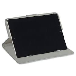 Verbatim Folio Carrying Case (Book Fold) iPad Air - Pebble Grey