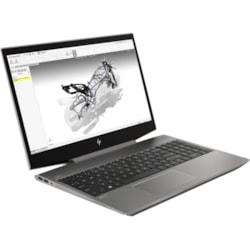 "HP ZBook 15v G5 39.6 cm (15.6"") Mobile Workstation - 1920 x 1080 - Core i7 i7-9750H - 8 GB RAM - 1 TB HDD - 512 GB SSD - Turbo Silver"