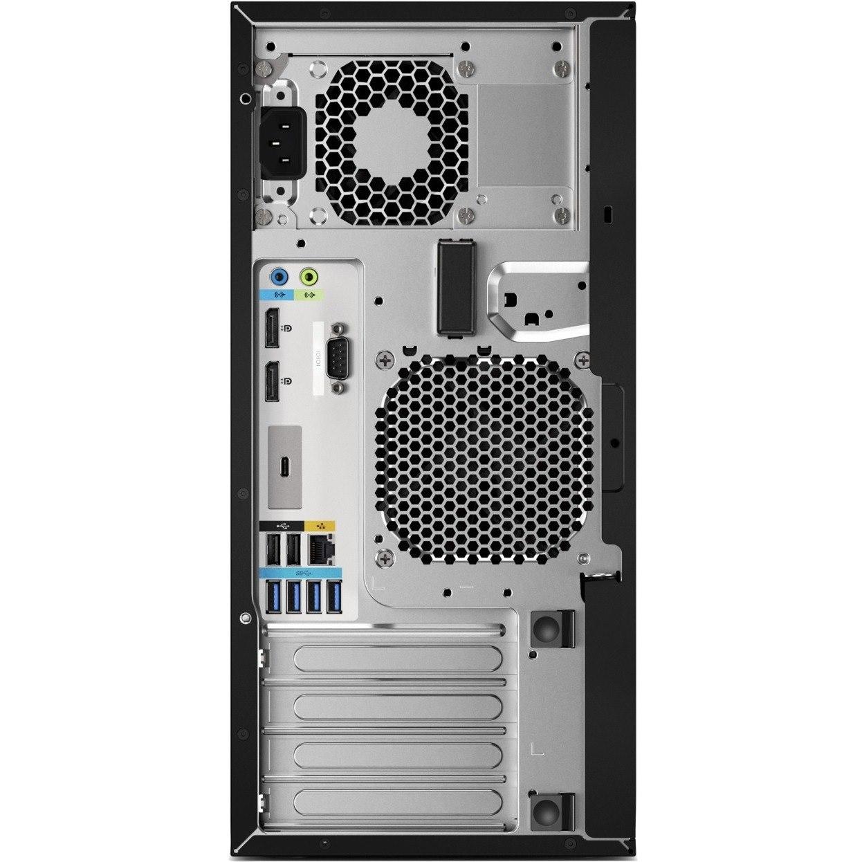 HP Z2 G4 Workstation - 1 x Xeon E-2236 - 32 GB RAM - 1 TB HDD - 512 GB SSD - Mini-tower - Black