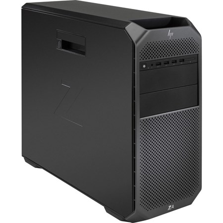 HP Z4 G4 Workstation - 1 x Xeon W-2104 - 16 GB RAM - 1 TB HDD - 512 GB SSD - Mini-tower - Black