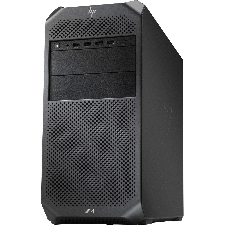 HP Z4 G4 Workstation - 1 x Xeon W-2145 - 64 GB RAM - 2 TB HDD - 1 TB SSD - Mini-tower - Black