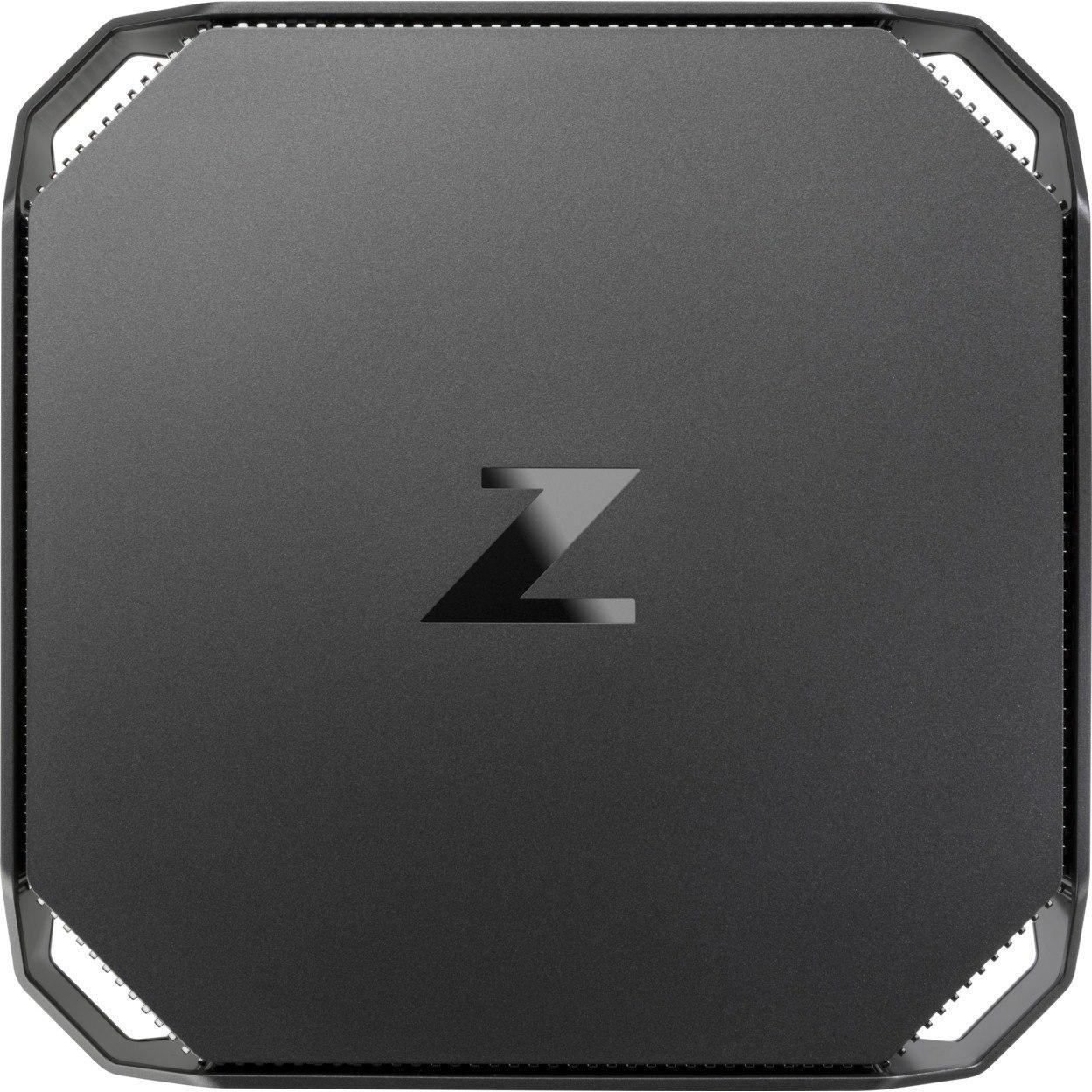HP Z2 Mini G4 Workstation - 1 x Xeon E-2276G - 32 GB RAM - 1 TB HDD - 512 GB SSD - Mini PC - Space Gray, Black Chrome Accent