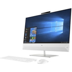 "HP Pavilion 27-xa0000 27-xa0190a All-in-One Computer - Intel Core i7 9th Gen i7-9700T 2 GHz - 16 GB RAM DDR4 SDRAM - 512 GB SSD - 68.6 cm (27"") Full HD 1920 x 1080 Touchscreen Display - Desktop"