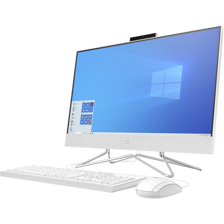 """HP 24-df0000 24-df0201a All-in-One Computer - Athlon 3050U - 8 GB RAM - 256 GB SSD - 60.5 cm (23.8"""") 1920 x 1080 - Desktop"""