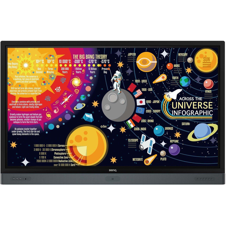 "BenQ RP6501K 165.1 cm (65"") LCD Touchscreen Monitor - 16:9 - 8 ms"