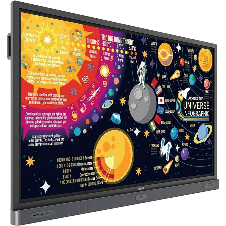 "BenQ Education RP7501K 190.5 cm (75"") LCD Touchscreen Monitor - 16:9 - 8 ms"