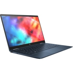 "HP Elite Dragonfly 33.8 cm (13.3"") Touchscreen 2 in 1 Notebook - 1920 x 1080 - Intel Core i7 (8th Gen) i7-8565U Quad-core (4 Core) 1.80 GHz - 16 GB RAM - 512 GB SSD - Iridescent Blue"
