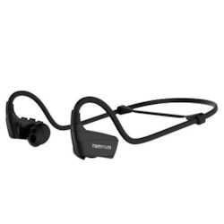 TomTom Wireless Earbud, Behind-the-neck, Over-the-ear Stereo Earset - Black