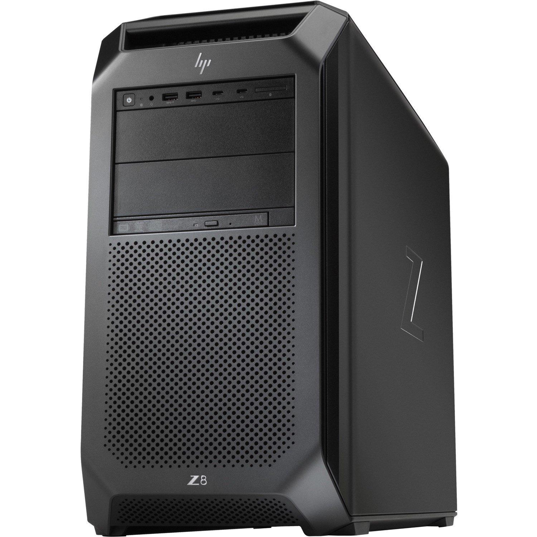 HP Z8 G4 Workstation - Xeon Silver 4216 - 128 GB RAM - 4 TB HDD - 2 TB SSD - Tower - Black