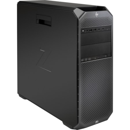 HP Z6 G4 Workstation - Xeon Silver 4208 - 16 GB RAM - 2 TB HDD - 512 GB SSD - Mini-tower - Black