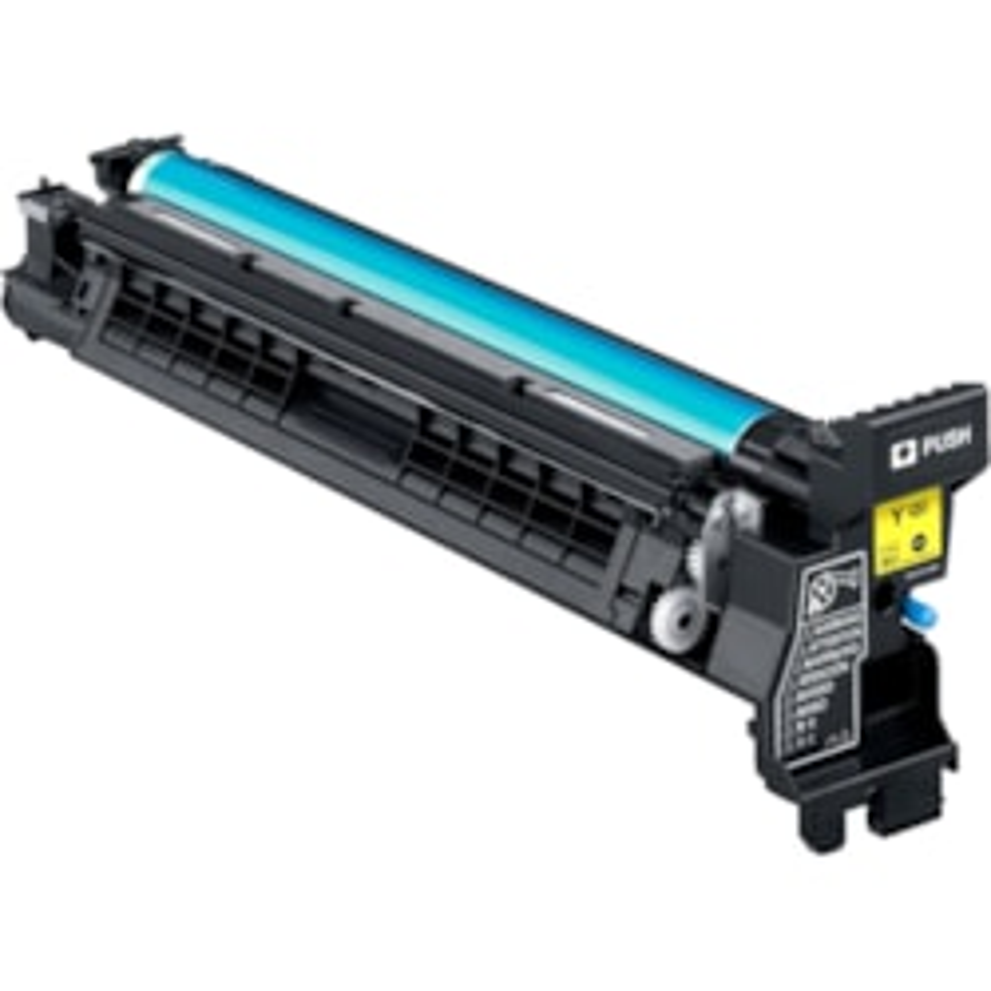 Konica Minolta A0DE07F Laser Imaging Drum - Yellow