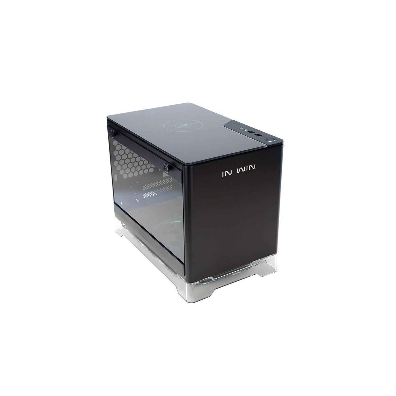 In Win A1-Black Computer Case - Mini ITX Motherboard Supported - SECC, Tempered Glass - Black - 6 kg