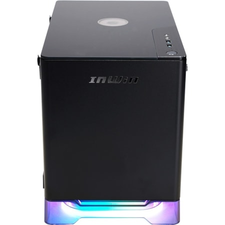 In Win A1 PLUS Computer Case - Mini ITX Motherboard Supported - Mini-tower - SECC, Tempered Glass - Black - 7.10 kg