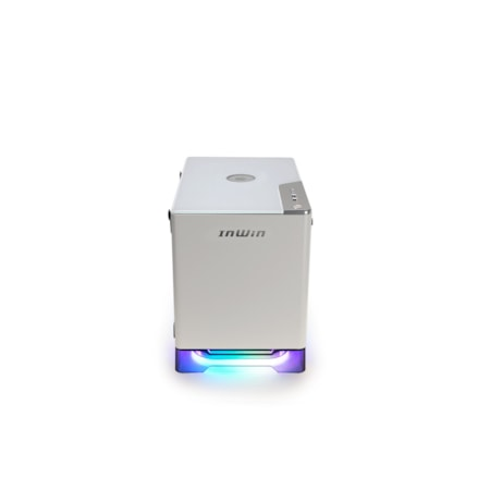 In Win A1 PLUS Computer Case - Mini ITX Motherboard Supported - Mini-tower - SECC, Tempered Glass - White - 7.10 kg