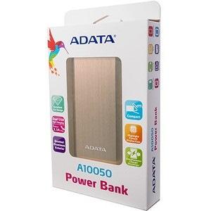 Adata A10050 Power Bank - Gold