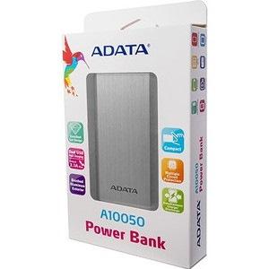Adata A10050 Power Bank - Silver