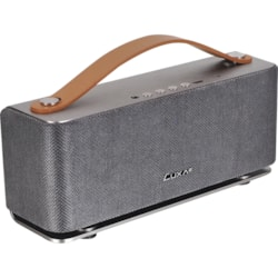 LUXA2 Groovy Portable Bluetooth Speaker System - 5 W RMS - Silver
