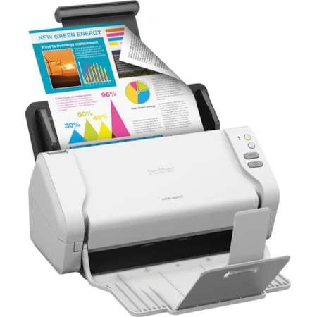 Brother ADS-2200 Sheetfed Scanner - 600 dpi Optical