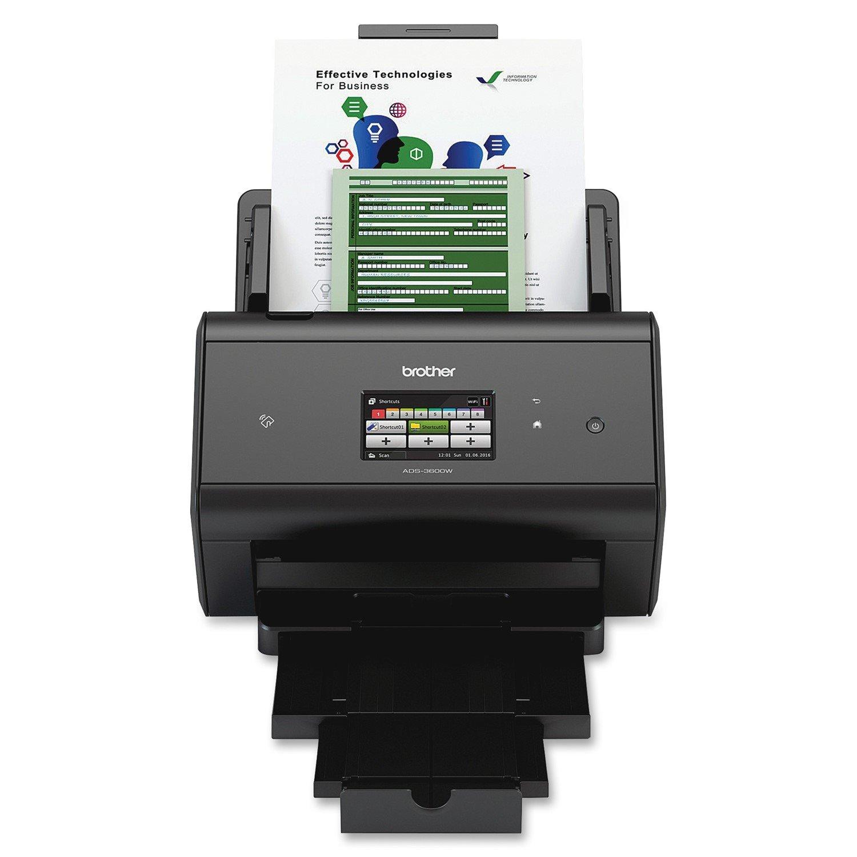 Brother ImageCenter ADS-3600W Sheetfed Scanner - 600 dpi Optical