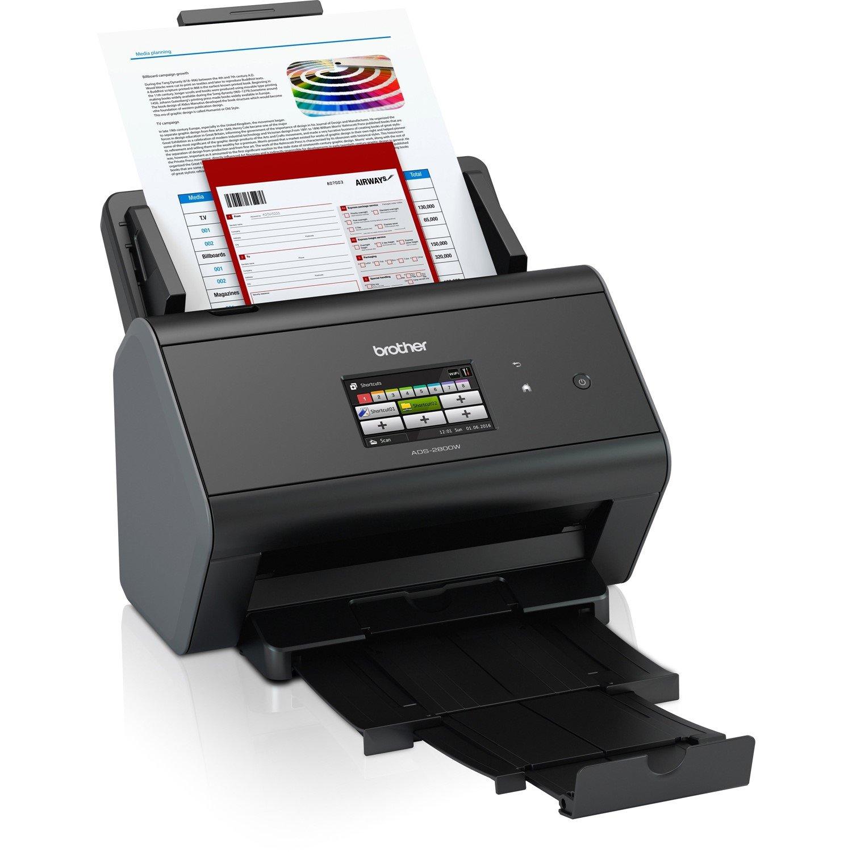Brother ImageCenter ADS-2800W Sheetfed Scanner - 600 dpi Optical