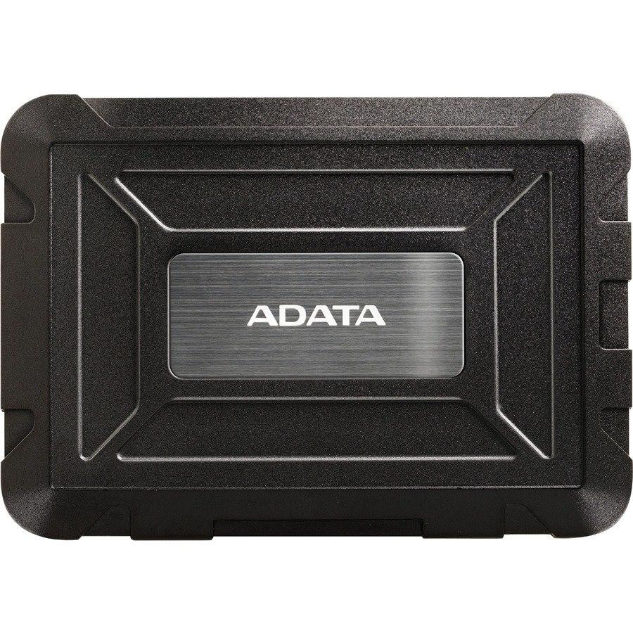 Adata AED600-U31-CBK Drive Enclosure - USB 3.1 Host Interface External - Black