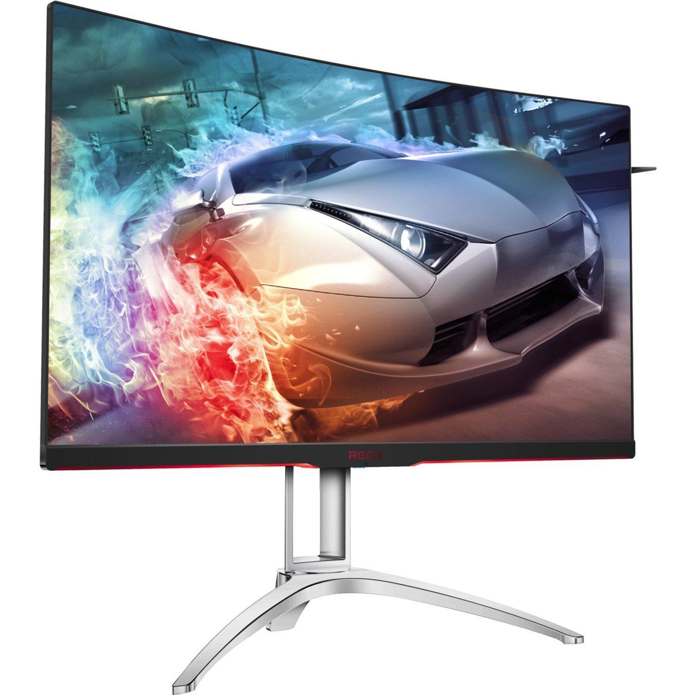 "AOC AGON AG322QC4 80 cm (31.5"") LED LCD Monitor - 4 ms GTG"