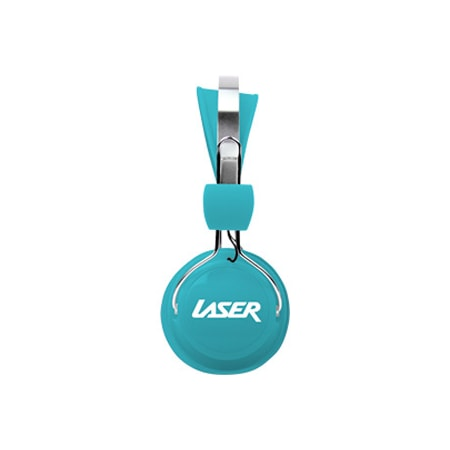 LASER Wired Over-the-head Stereo Headphone - Blue