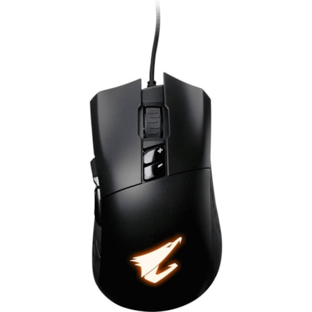 Gigabyte AORUS M3 Mouse - Optical - Cable - Matte Black