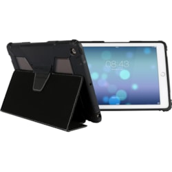 """MAXCases Extreme Carrying Case (Folio) for 24.6 cm (9.7"""") iPad (2017) - Black, Clear"""
