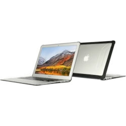 MAXCases Max Extreme Case for MacBook Air, Notebook - Transparent, Black
