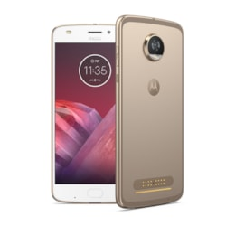 "Motorola Moto Z² Play 64 GB Smartphone - 14 cm (5.5"") Super AMOLED Full HD Touchscreen - 4 GB RAM - 4G - 12 Megapixel Rear/Android 7.1.1 Nougat - SIM-free"