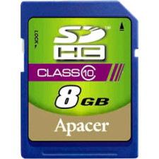 Apacer 8 GB Class 10 SDHC