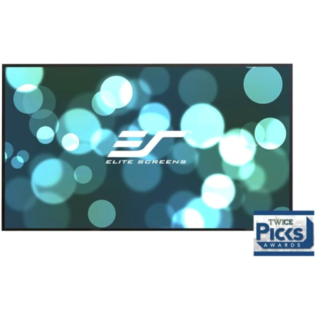 "Elite Screens Aeon AR100DHD3 Fixed Frame Projection Screen - 254 cm (100"") - 16:9 - Wall Mount"