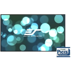 """Elite Screens Aeon AR100WH2 254 cm (100"""") Fixed Frame Projection Screen"""