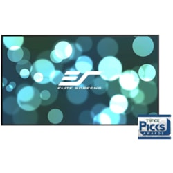 "Elite Screens 120"" Fixed Frame 16:9 Projecto R Screen, Edge Free Ultra Thi N Velvet Tape - Aeon"