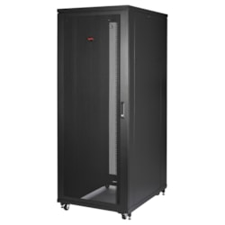 APC by Schneider Electric NetShelter SV 48U High x 482.60 mm Wide Rack Cabinet - Black