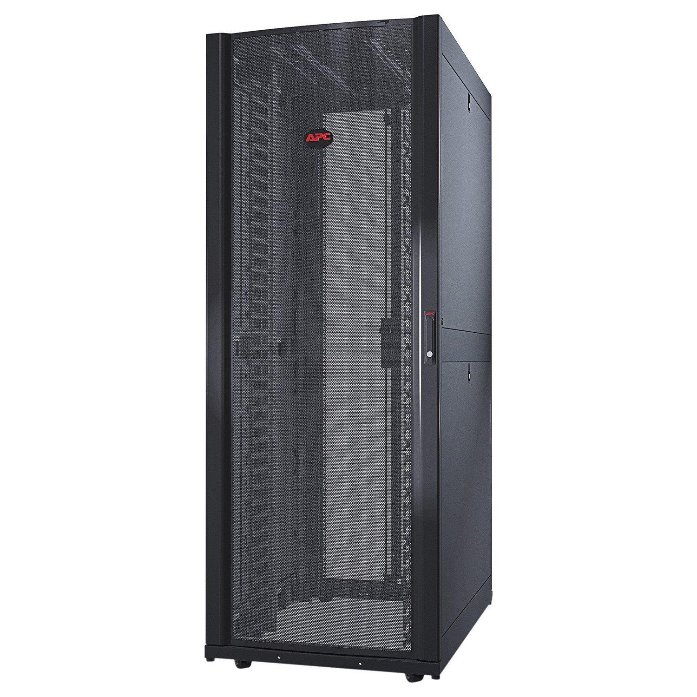 Schneider Electric NetShelter SX 42U High x 482.60 mm Wide Floor Standing Rack Cabinet for Server - Black