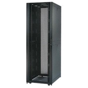 Schneider Electric NetShelter SX 48U High x 482.60 mm Wide Floor Standing Rack Cabinet for Server - Black