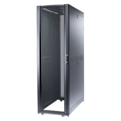 Schneider Electric 42U High x 482.60 mm Wide Floor Standing Rack Cabinet - Black