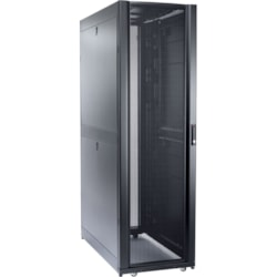 Schneider Electric NetShelter SX 48U Floor Standing Rack Cabinet for Server - 482.60 mm Rack Width - Black