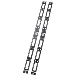 APC by Schneider Electric AR7502 Cable Manager - Black