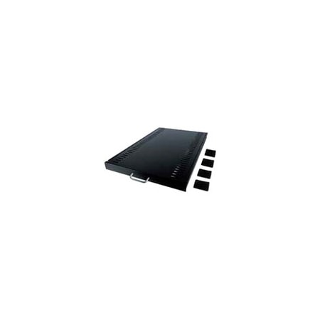 Schneider Electric 1U Rack-mountable Rack Shelf - Black