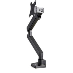 StarTech.com ARMSLIM2USB3 Mounting Arm for Monitor, Curved Screen Display, Flat Panel Display - Black