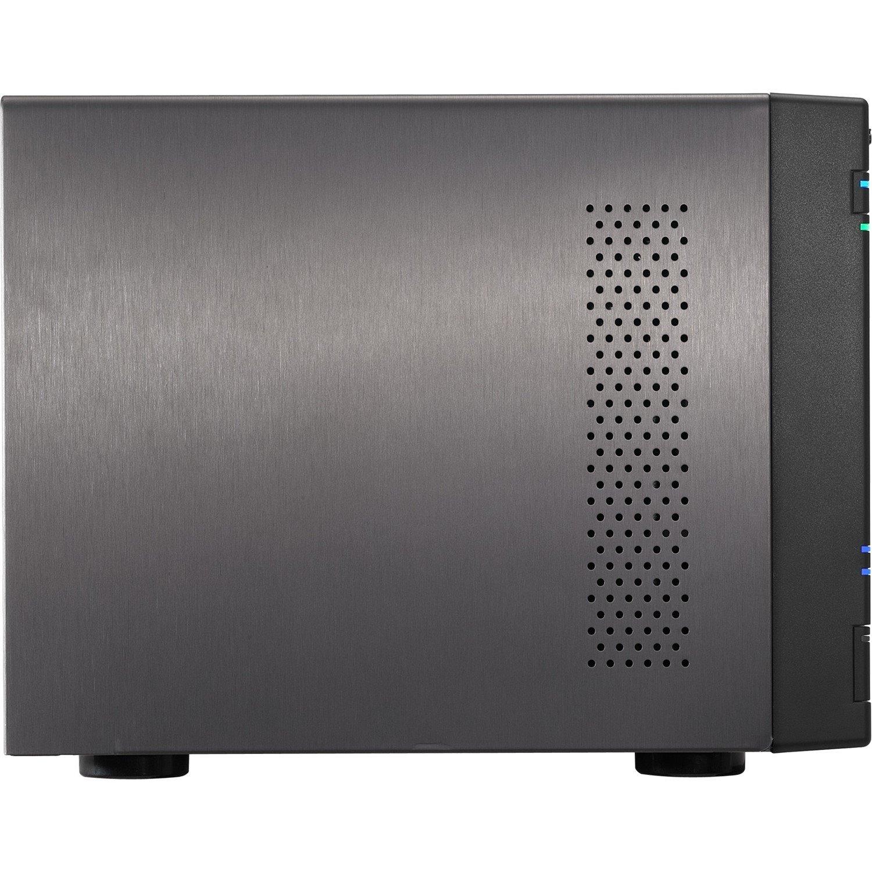 ASUSTOR AS6204T 4 x Total Bays NAS Storage System - Desktop