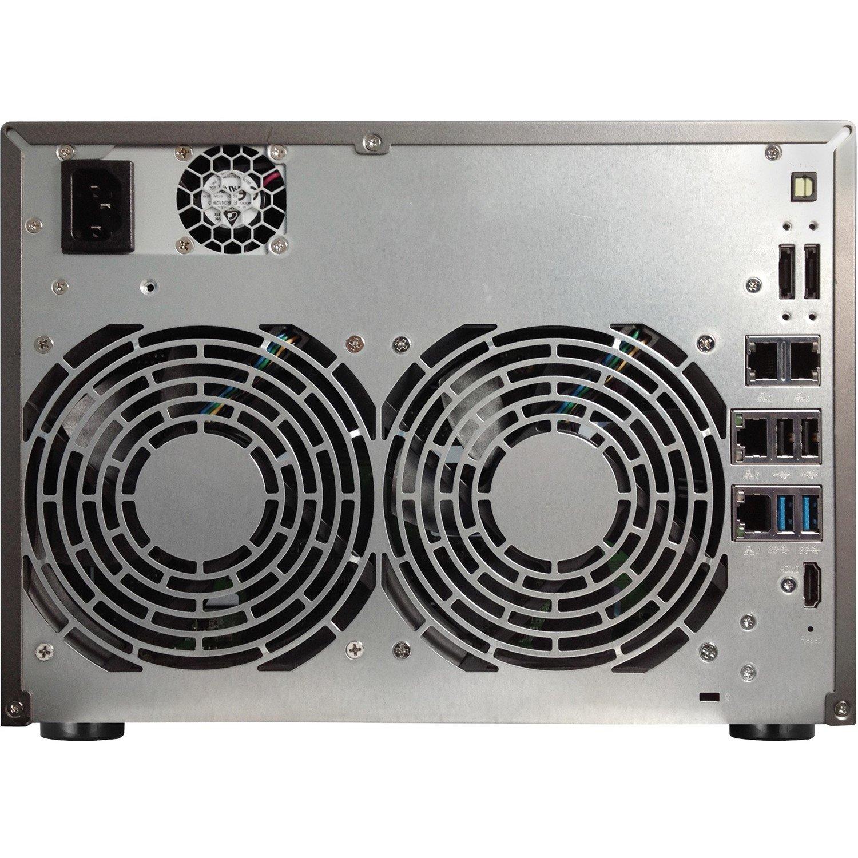 ASUSTOR AS6210T 10 x Total Bays SAN/NAS Storage System - Desktop