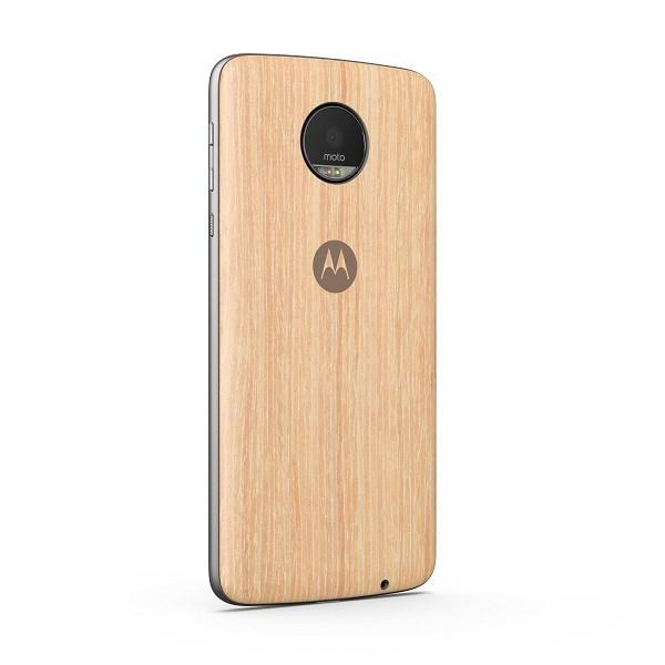 Motorola Style Shell Case for Smartphone - Washed Oak