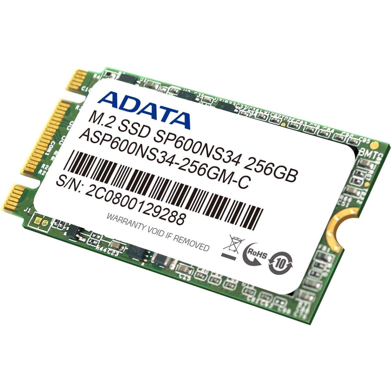 Adata Premier SP600 256 GB Solid State Drive - SATA (SATA/600) - Internal - M.2 2242