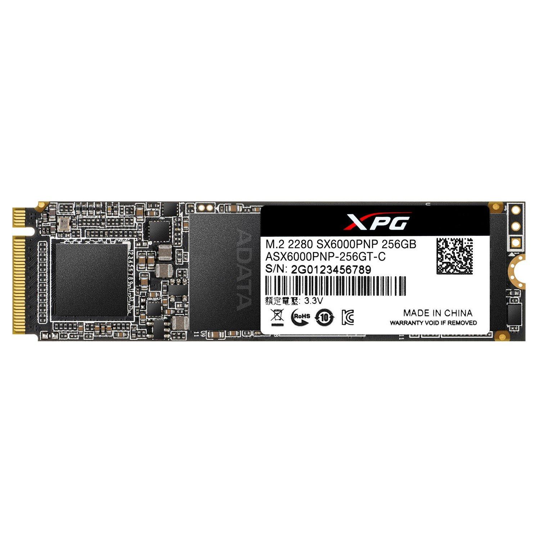 XPG SX6000 Pro ASX6000PNP-256GT-C 256 GB Solid State Drive - PCI Express (PCI Express 3.0 x4) - 150 TB (TBW) - Internal - M.2 2280